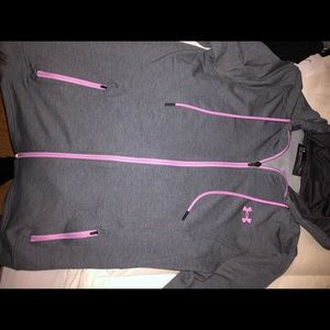 BRAND NEW WO TAGS UNDERARMOUR ZIPUP